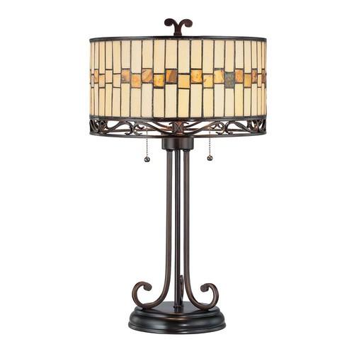 Illumine 26.5 in. Dark Bronze Table Lamp