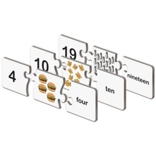 The Learning Journey Match It! Numbers Puzzle Cards