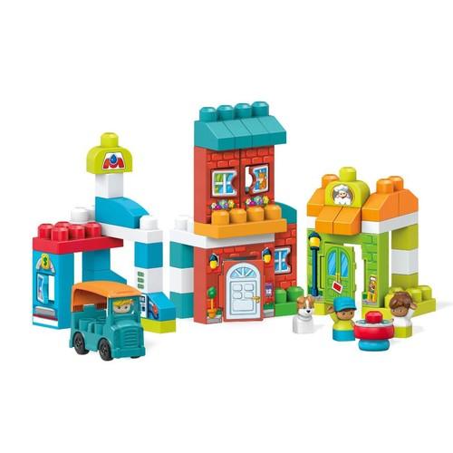 Mega Bloks Building Set - Main Street Friends