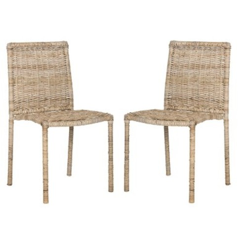 Safavieh Makassar Wicker Chair 2-piece Set