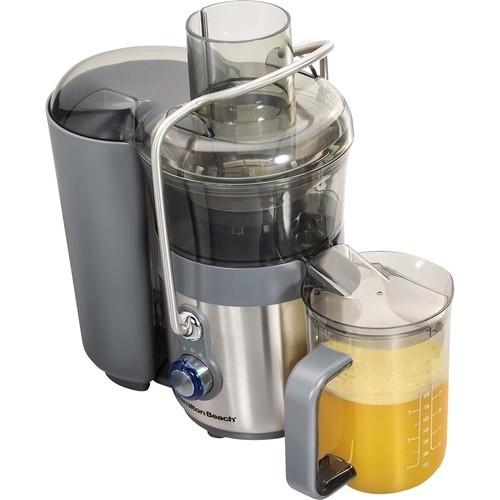 Hamilton Beach - Premium Big Mouth 2 Speed Juice Extractor - Gray/Silver