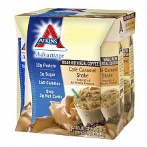 Atkins Advantage Shakes Cafe Caramel