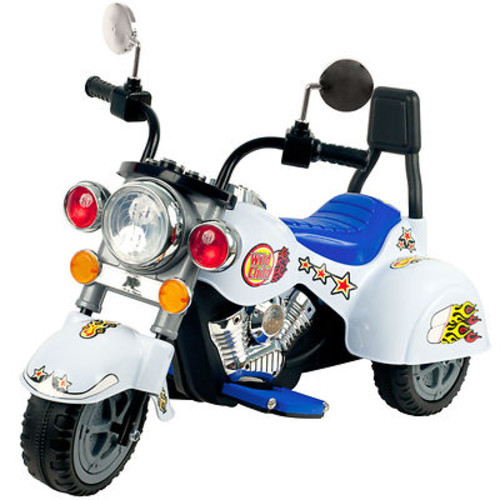 Lil' Rider White Knight Motorcycle 3-Wheeler