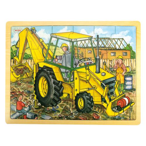 Big Jigs 24 Piece Digger Tray Puzzle
