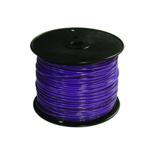 Southwire 500 ft. 16 Purple Stranded CU TFFN Fixture Wire