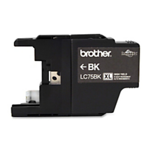 Brother LC75BK High-Yield Black Ink Cartridge