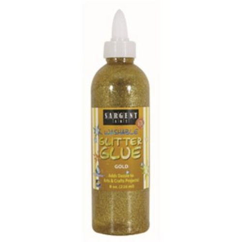 8 oz. Glitter Glue - Gold (RTL145556)