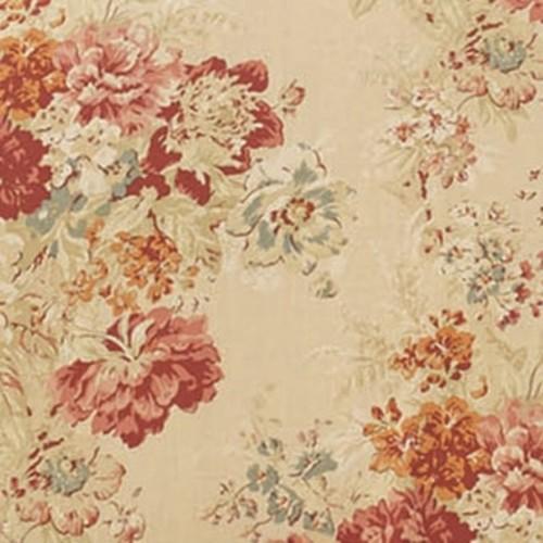 Sure-Fit Ballad Bouquet Armchair T-Cushion Skirted Slipcover [option : T-Cushion Chair, BLUSH]