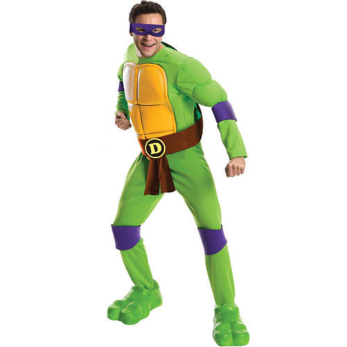 Teenage Mutant Ninja Turtles Donatello Halloween Costume - Adult One Size
