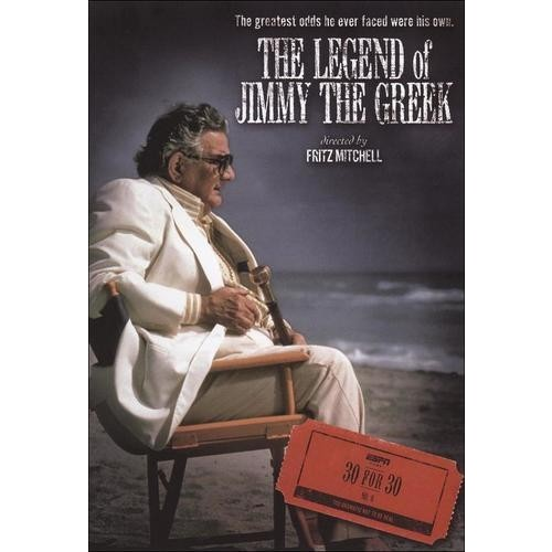 ESPN Films 30 for 30: The Legend of Jimmy The Greek DVD