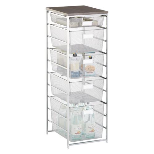 Platinum Cabinet-Sized elfa Mesh Pantry Storage