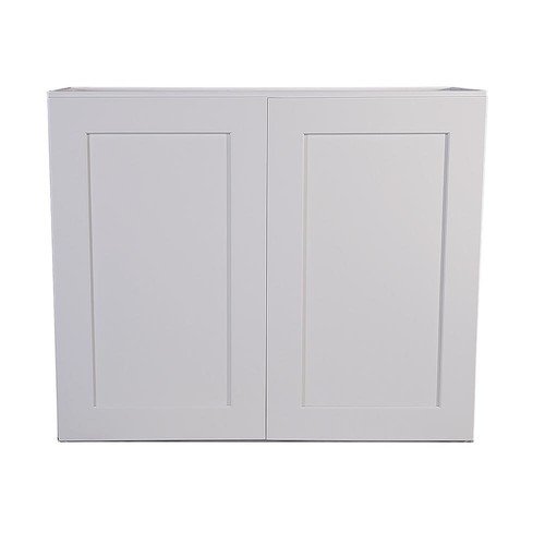 Design House Brookings Fully Assembled 33x24x12 in. Kitchen Wall Cabinet in White