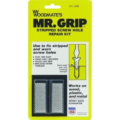 Woodmate 2498 Mr. Grip Screw Hole Repair Kit