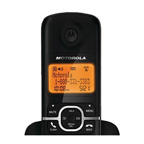 Motorola DECT 6.0 Corded Base Phone with Cordless Handset, Digital Answering System and Eco-Mode L704CM