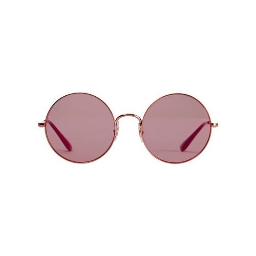 RAY-BAN The Jajo Pink Round Sunglasses