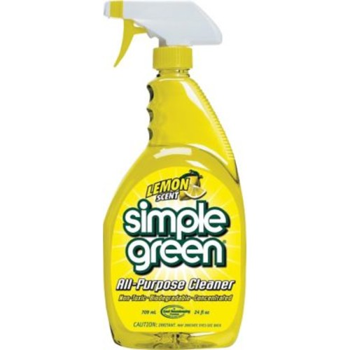 Simple Green All-Purpose Cleaner, Lemon Scent, 24 oz.