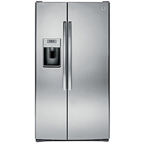 GE Profile 28.4 Cu. Ft. Side-by-Side Refrigerator - Stainless Steel