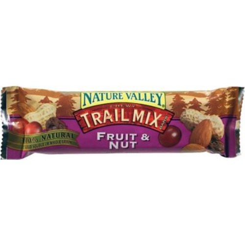Nature Valley Chewy Trail Mix Granola Bars, Fruit & Nut, 1.2 oz. Bars, 16 Bars/Box