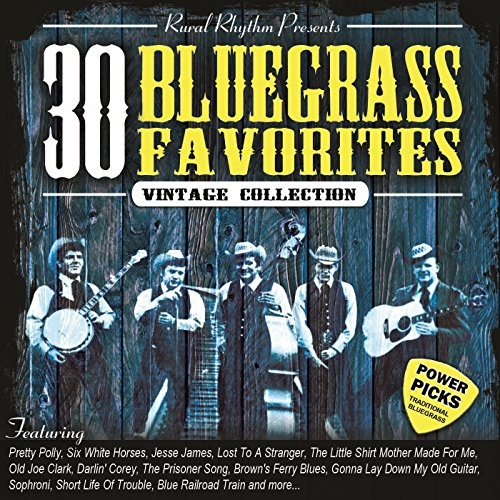 30 Bluegrass Favorites: Vintage Collection [CD]