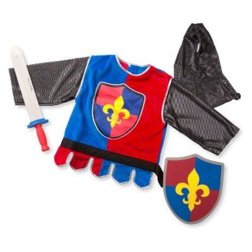 Melissa & Doug Knight Role Play Costume Dress-Up Set (4pc)