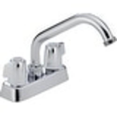 Delta P299232 Classic Two Handle Laundry Faucet, Chrome