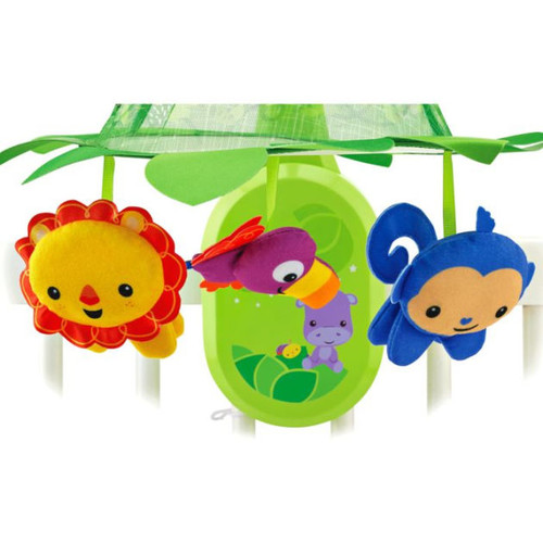 Fisher-Price Rainforest Grow-with-Me Projection Mobile
