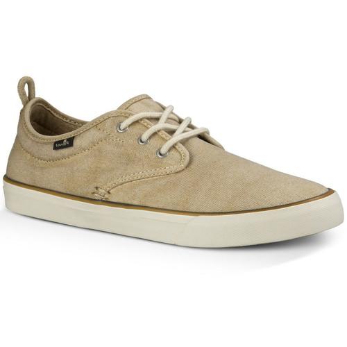 SANUK Mens Guide Plus Shoes, Washed Natural