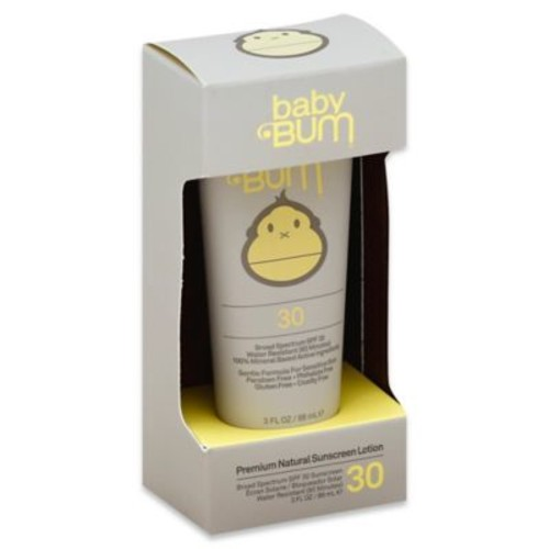 Sun Bum Baby Bum 3 oz. Natural Sunscreen Lotion with SPF 30
