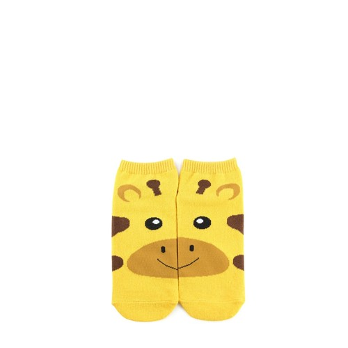 Giraffe Graphic Ankle Socks