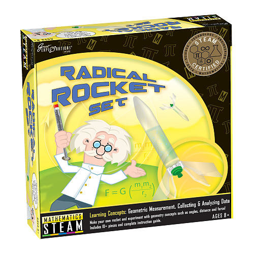 Great Explorations STEAM Learning System Mathematics Radical Rocket Set
