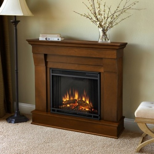 Chateau Electric Fireplace in Espresso Finish