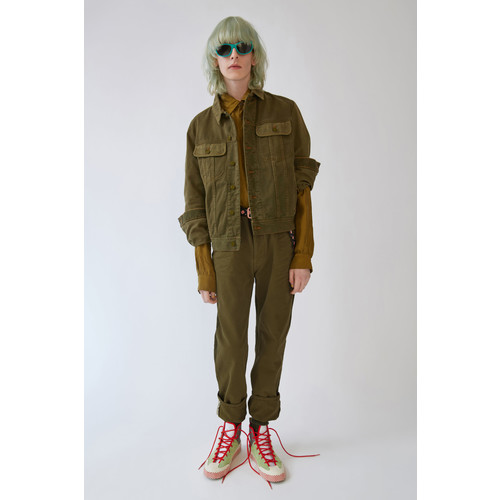 Tent burnt olive green