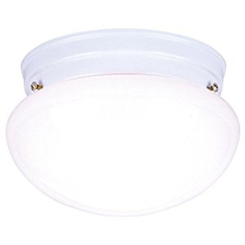 WESTINGHOUSE LIGHTING 66699 Ceiling Fixture, 7-1/2-Inch, White [One Light White]