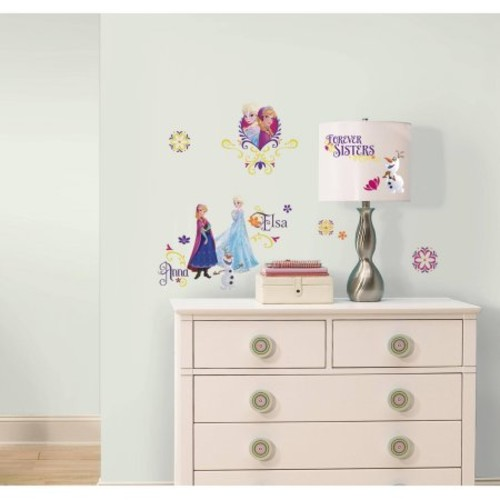 RoomMates Disney Frozen Spring Peel and Stick Wall Decals