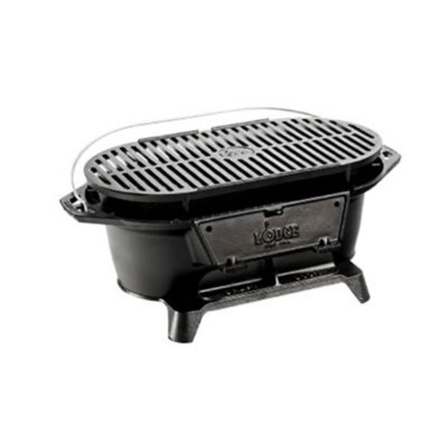 Lodge Cast-Iron Sportsman's Grill