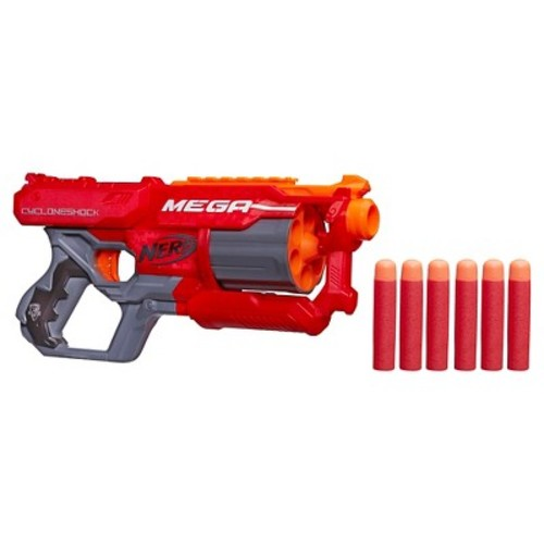 Nerf N-Strike Elite Mega CycloneShock Blaster [Frustration-Free Packaging]