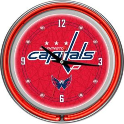 Trademark Games Washington Capitals 14'' Neon Clock