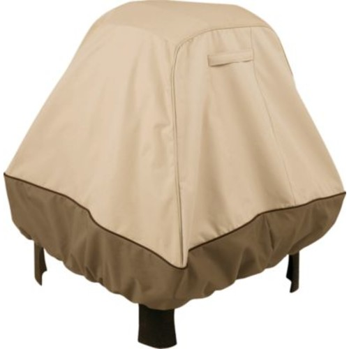 Classic Accessories Veranda Series Fire Pit Cover [Style : LG Round]