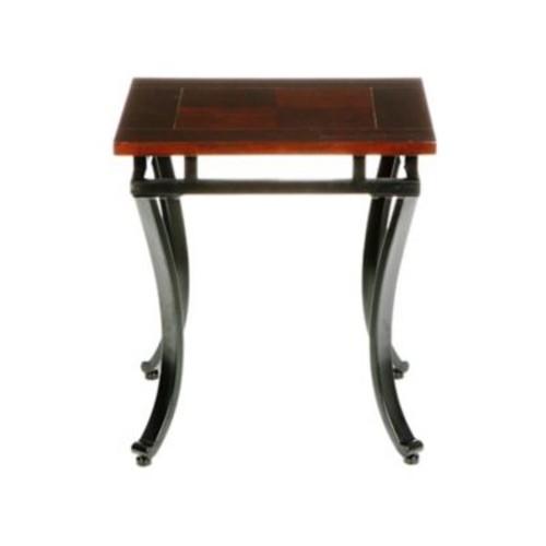 SEI Modesto Metal End Table, Espresso, Each (CK6422R)