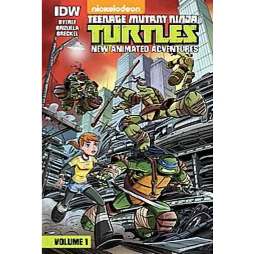 Teenage Mutant Ninja Turtles: New Animated Adventures: Volume 1 (Library) (Kenny Byerly)