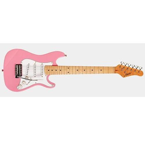 Austin AST 112 Mini Series 1/2 Size Electric Guitar, Pink AST112PK