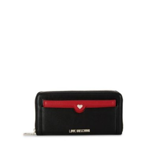 Love Moschino - Faux Leather Zip-Around Wallet