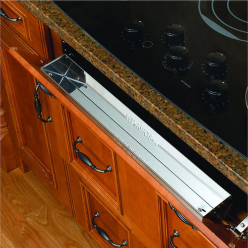 Rev-A-Shelf 6581 Series Stainless Steel 10-inch Tip-Out Tray