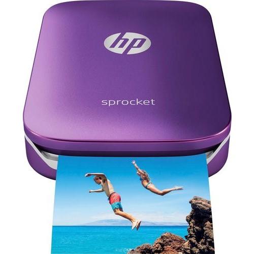 HP - Sprocket Photo Printer - Purple