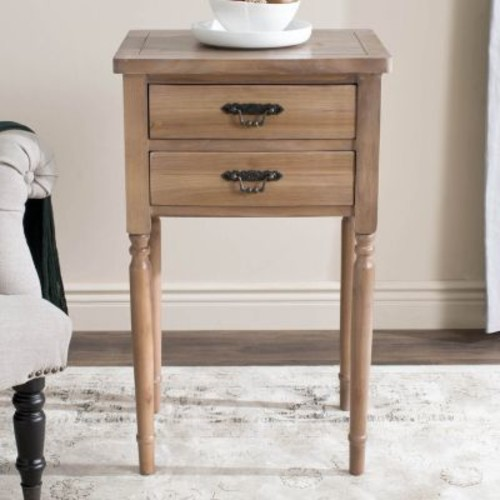 Safavieh Marilyn Honey Natural End Table
