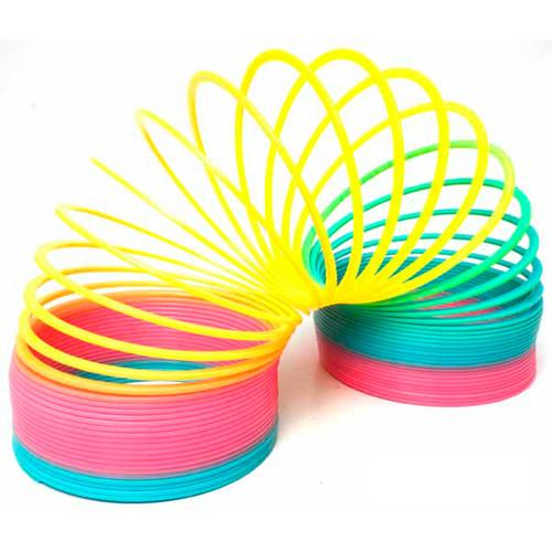 Slinky Rainbow Rings -