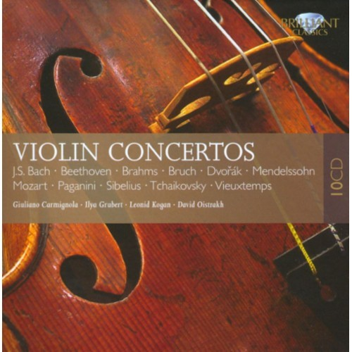 Violin Concertos - CD - Various Box