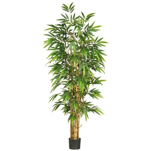 Nearly Natural 6 ft. Belly Bamboo Silk Tree