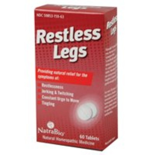 Natrabio Restless Legs Tablets, 60 Count