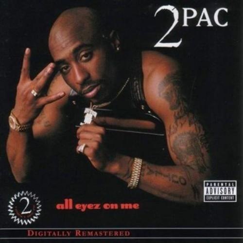 2Pac - All Eyez on Me [Explicit Lyrics] (CD)